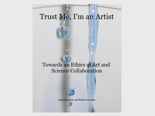 Trust me, I'm an Artist, book cover