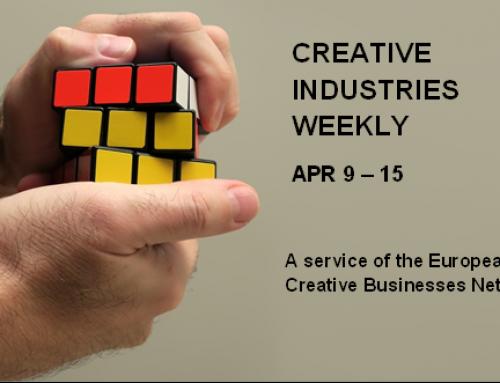 Creative Industries Weekly, April 9 – 15