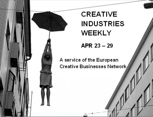 Creative Industries Weekly, April 23 – 29