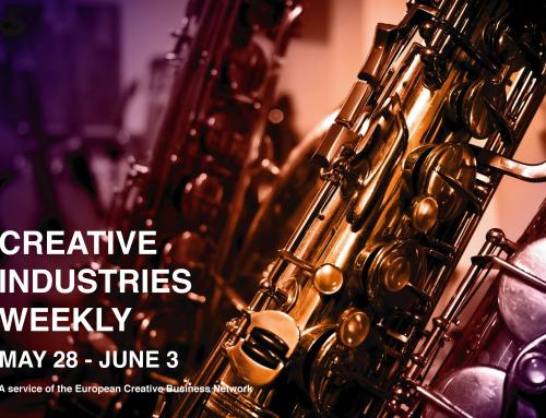 Creative Industries Weekly, May 28 – Jun 3